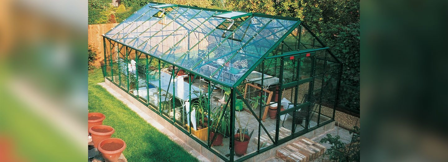 20 x 10 Supreme greenhouse