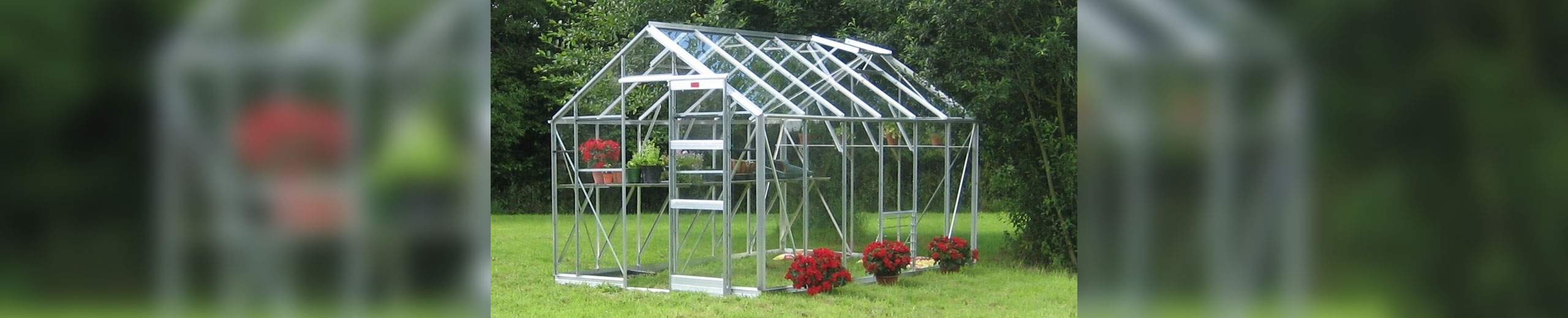 12 x 8 Belmont greenhouse