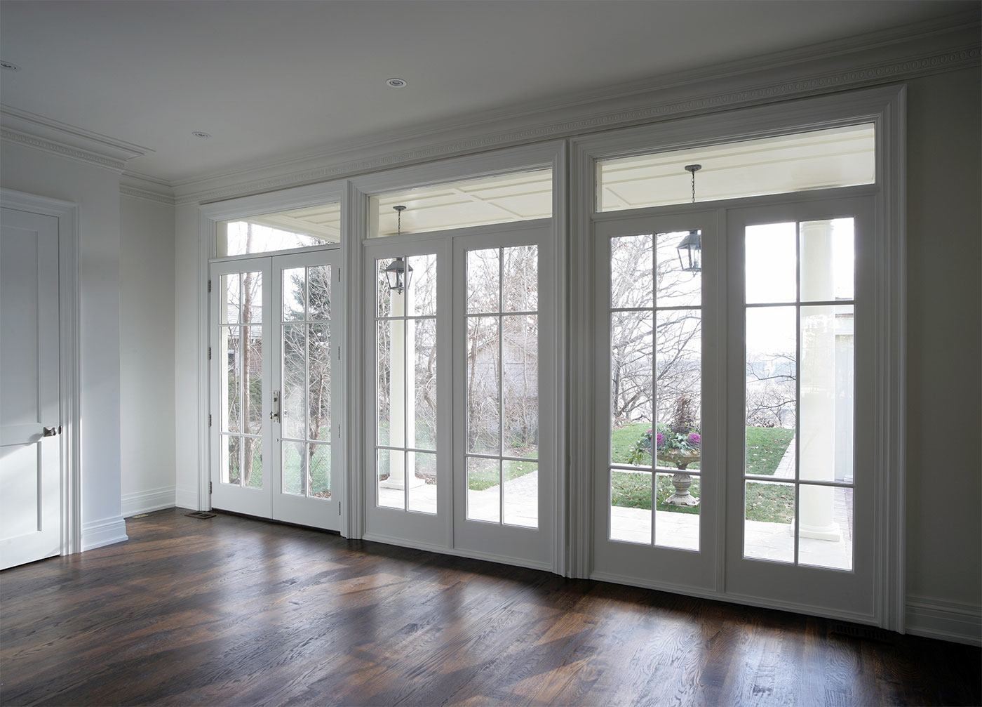 High security double handled french doors from south for Double glass french doors